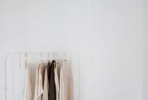 the minimalist wardrobe. / minimalism, minimalist style, neutrals, conscious shopping  / by Nichole Dunst