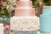 Wedding Cakes / Whimsical, Geometric, Romantic, Rustic, Glamorous - you can find ideas under this board.