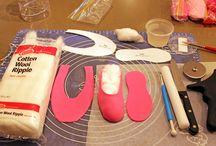 Molde sapatilha