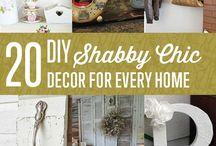 Shabby Chic na różne sposoby / Modne wnętrza i dekoracje z duszą na każdą kieszeń