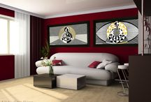 Home Decor with Gaia Orion's art