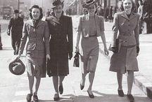 1940's Fashions.