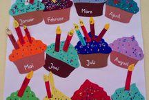 Geburtstagskalender Kita