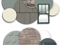 exterior paint colors / by Brianna Holifield