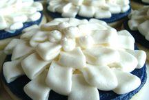 Wedding Cookies / Wedding Cookies | Wedding Dessert | Bridal Shower | Ring Cookies | Bachelorette Cookies