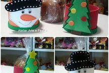 Atelier Arte Festa - Natal / Aqui, nesse álbum, coisas de Natal da minha loja e algumas fotos dos meus Natais. Adoro Natal!!!