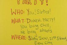 Sloths / Sloth!!