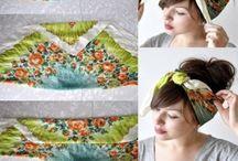 Замотанные платки на голову