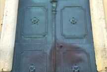 Doors and handle