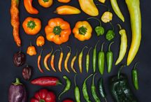 colour and food