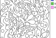 Coloring pages / by Peggy Morton