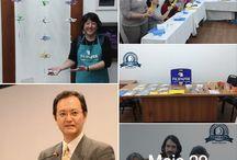 """Exposição e minioficinas de origami. / Exposição no Nikkey Palace Hotel, com org. da sensei Luiza Okubo. Ontem tivemos a visita especial do novo cônsul-geral do Japão em SP, Takahiro Nakamae, que gentilmente visitou todas as mesas. Na correria, eu esqueci de tirar uma foto, mas consegui presenteá-lo com o meu novo livro, """"Poemanimais"""", com parcerias Filiperson e Funcadi. Abraços Dobrados Agradecidos. https://www.facebook.com/tereza.yamashita.9/media_set?set=a.1408502422496625.1073741974.100000106419607&type=3&pnref=story"""