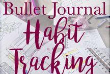 bullet journal tracking
