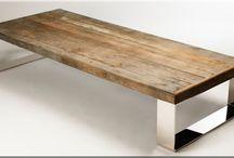 Fa bútor, natúr / Natúr fából készített érdekes bútorok, organikus bútor, természetes fa bútor