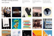 Webdesign / Pour le projet de site web.