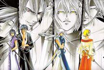 Mangakas / Galerie présentant le style de divers dessinateurs de mangas.
