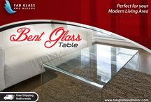 Clear Bent Glass Nest Tables / Get Clear Bent Glass Nest Tables for your home at Affordable Price You can order online by clicking here http://www.fabglassandmirror.com/glass-tables/bent-glass-tables or Call Us +1 888-474-2221