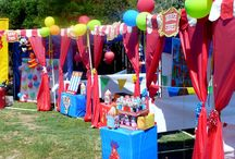 Carnival Circus 5th Bday inspiration