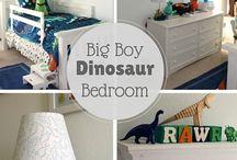 Toddler Dinosaur Bedroom