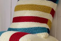 Garter Stitch Projects / Free knitting patterns for easy garter stitch projects. Make your own garments blankets and more great knitting patterns for beginners.