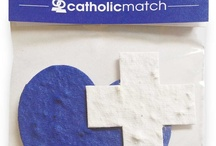 CatholicMatch Store / CatholicMatch resources, CatholicMatch Tshirts and onesies, CatholicMatch Gift Cards, CatholicMatch lanyards, CatholicMatch Grow in Faith seeded paper packets / by CatholicMatch.com