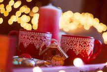 Огоньки новогодние