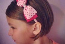 kislány frizura