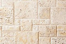 Coral Stone: Cultured Stone® by Boral® / The delicate fossil patterns and unique surface characteristics of Coral Stone complement contemporary architecture and design beautifully. It can be installed as a random ashlar or in a repeating pattern.
