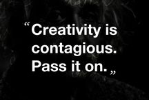 Quotes / Some quotes about creativity, art, imagination and so on..