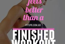 Being Healthy and Fit! / by Melissa Keihn Forehand