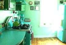 Vintage Kitchen  / by Lorna Thompson