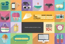 Solo Super Sconti!  / I migliori sconti su internet per il tuo shopping online! Trovali su www.super-sconti.com