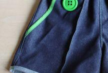 Tutorials: shorts and pants