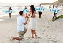 Demande en mariage originale / De nombreuses idées sont abordables, qui donneront un effet d'originalité à votre demande, sans vous coûter cher.