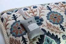project: cushion / We love well tailored cushions and best quality materials.