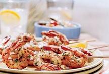 Food fish shrimp crab