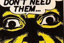 Pop, vintage art and Comics