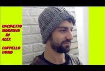 cappello homo uncinetto