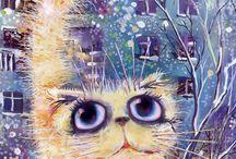 коты - пушистики / красивын, мягкие, разнохарактерные