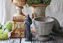 Medicis / Antique Urns, vase Médicis