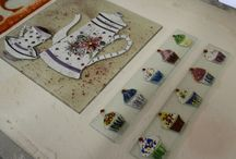 Fused Glass Art / Individually Hand-Crafted Fused Glass Art, made right here in Spires Art!