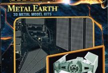 Metal Models / Metal Earth 3D metal Models
