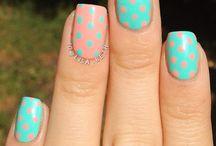 uñas / diversas formas de pintarse las uñas