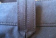 detalhes denim/jeans