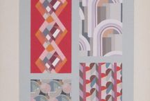 Edouard Benedictus & Art Deco Motifs