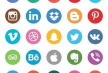 Simbolos De Redes Sociales