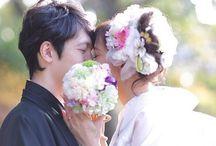 和装前撮りフォト* Kimono Wedding Photo