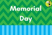 Memorial Day / Memorial Day resources and activities for the classroom and home!