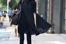 7. All black