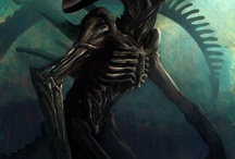 alien and h.r.giger art